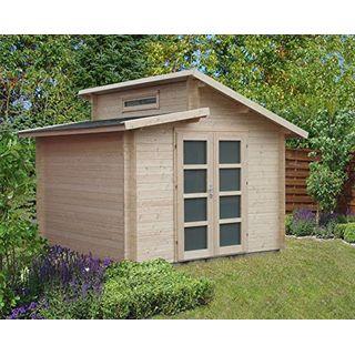 Alpholz Carlsson Gartenhaus Aktiva aus Massiv-Holz