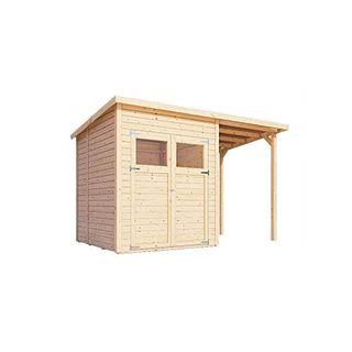 Alpholz Gerätehaus Mollie Plus aus Fichten-Holz