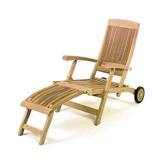 ROG garden-line TL8007: Teak Liegestuhl Deckchair SAN Francisco