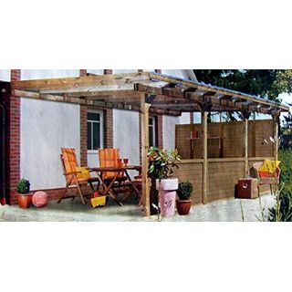 Terrassenüberdachung Juist III Wintergarten 600x300cm Überdachung Terrasse
