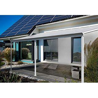 Home Deluxe Terrassenüberdachung weiß