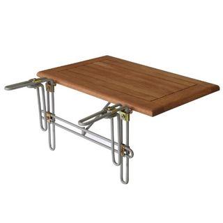 gartenmoebel-einkauf Balkonhängetisch 60x40cm Metallhalterung