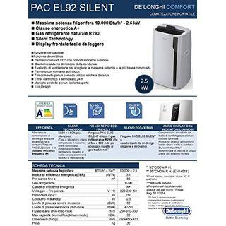 De'Longhi PAC EL92 Silent 50 W