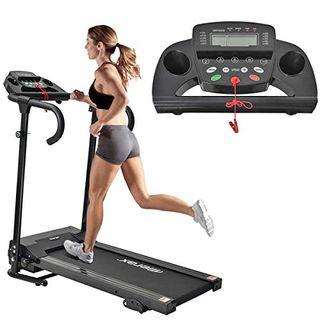 Merax Laufband Elektrisches Klappbar Lauftraining Fitnessgerät