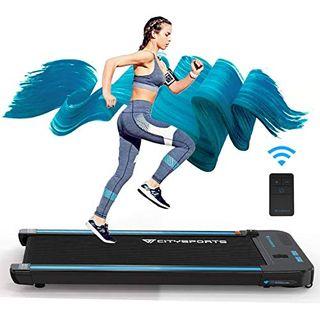 CITYSPORTS Laufband mit 440 W Elektromotor integrierte Bluetooth-Lautsprecher Einstellbares
