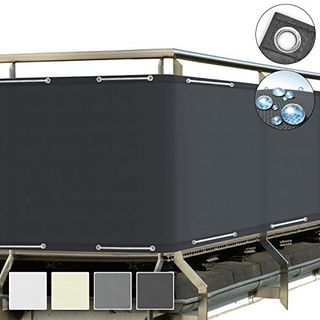 Sol Royal SolVision Balkon Sichtschutz Anthrazit PB2 PES blickdichte