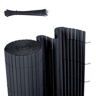 Sekey PVC Sichtschutzmatte Sichtschutzzaun Wetterfest Verstärkt