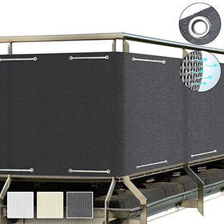 Sol Royal SolVision Balkon Sichtschutz HB2 Hdpe blickdichte Balkonumspannung