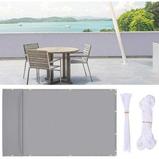 Ohuhu Balkon Sichtschutz 0,9x5m Zaun