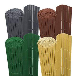 wolketon Sichtschutzmatte PVC Sichtschutz Garten Sichtschutzzaun