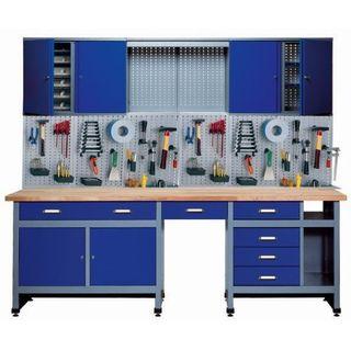 Küpper 70412–7 Set für Werkstatt 240 cm