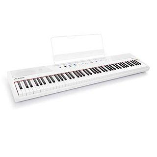 Alesis Recital White 88-Tasten Einsteiger Digital Piano