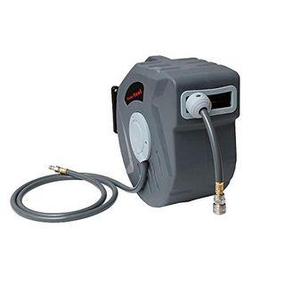 Drucklufttrommel 20m PVC-Gewebe Schlauchtrommel Druckluftschlauch
