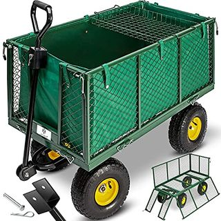 KESSER Bollerwagen 550kg belastbar Gartenwagen Transportwagen