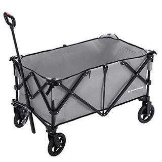 SONGMICS Bollerwagen aluminium bis 150 kg belastbar