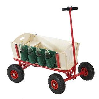 Mendler Bollerwagen Handwagen Leiterwagen Oliveira