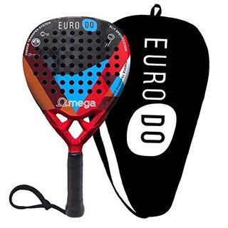 EURODO Padel Racket Carbon 18K Padelschläger