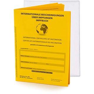 briefbogen.de Premium Set Internationaler Impfpass Impfausweis