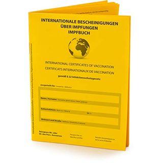 briefbogen.de Hochwertiger Internationaler Impfpass