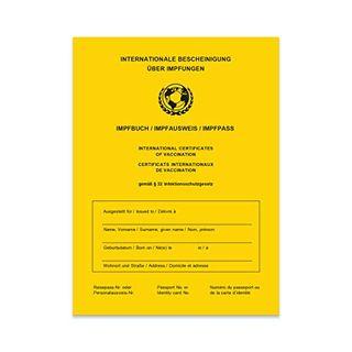 SellerRocket Impfpass Impfbuch/Impfausweis
