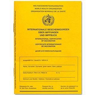 Internationaler Impfausweis Standard Impfpass Impfbuch