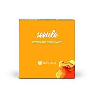 meineLinse Smile sphärische Tageslinsen 90 Stück