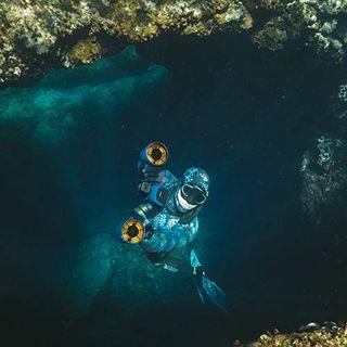 Sublue Elektrischer Unterwasserscooter WhiteShark Mix Tiefe 40 Meter