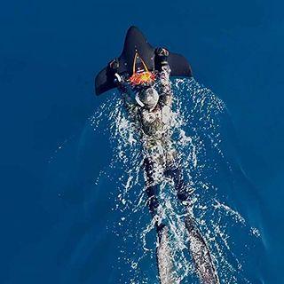 SDRFSWE Unterwasser-Scooter Sea Scooter 3-stufige Rotationsgeschwindigkeit
