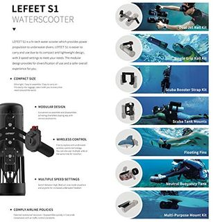 Unterwasser Seeroller S1 Lefeet