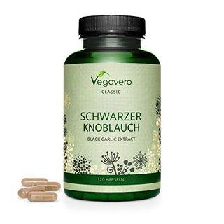 Schwarzer Knoblauch Vegavero 6000 mg