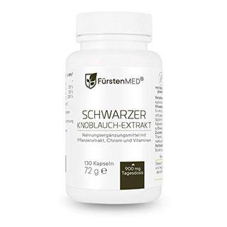 FürstenMED Fermentierter Schwarzer Knoblauch Extrakt
