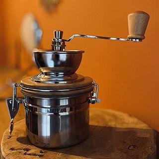 OXO Kaffeemühle Manuell Retro Vintage-Stil Hand Kaffeemühle