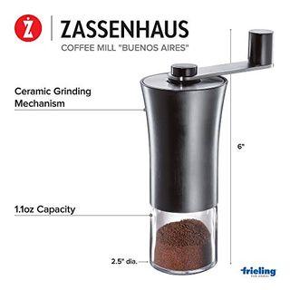 Zassenhaus M041132 Buenos Aires Kaffeemühle