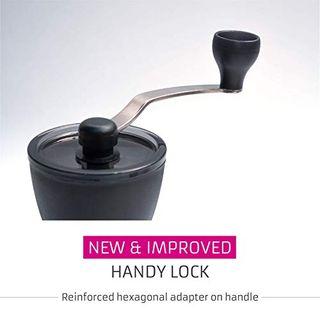 Hario Mini Mühle Slim Plus Schwarz