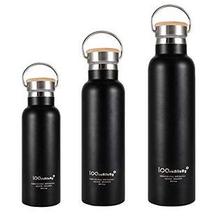 iParaAiluRy Trinkflasche Edelstahl