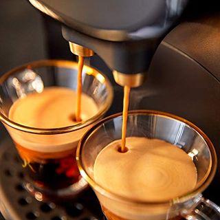 Philips Kaffeekapselmaschine Schwarz