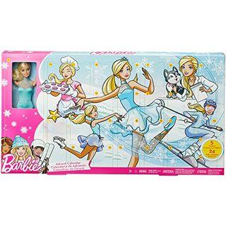 Barbie FGD01 Adventskalender 2018 Spielzeug Weihnachtskalender