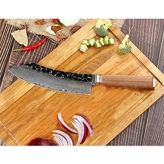 YOUSUNLONG Blockmesser 8-Zoll-Metzgermesser Brechmesser Japanischer