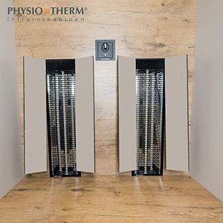 Physiotherm Infrarotkabine Infrarotkabine für 2 Personen