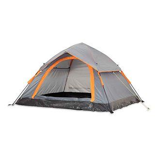 Lumaland Outdoor leichtes Pop Up Wurfzelt 3 Personen Zelt Camping Festival