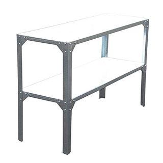 SVITA Pflanztisch Outdoor-Tisch Metall Garten-Tisch Werkbank
