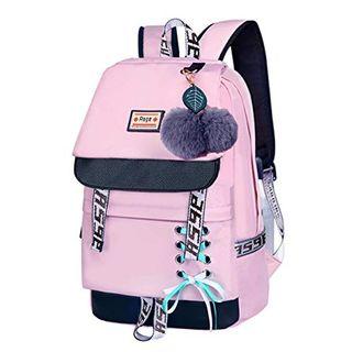 Asge Schulrucksack Mädchen Schulranzen Jungen Schultasche