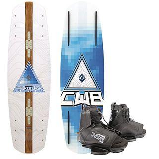 CWB Vibe Wakeboard Flex Board Grindbase Cable Wakeboard-Set