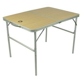 10T Campingtisch Portable Double 4 Mann Klappkoffer-Tisch