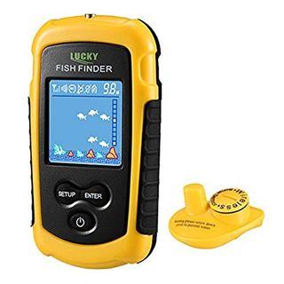 LUCKY Fischfinder Wireless Farbe Tragbarer Portable Angeln
