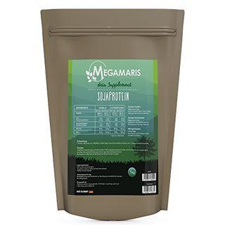 Megamaris Soja Eiweiss 1 x 1000g Beutel Soja Protein Isolat Vegan