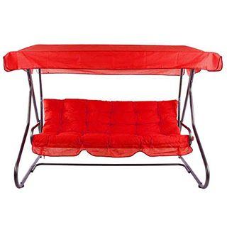 PATIO 3-Sitzer Hollywoodschaukel Milano 170 cm Gartenschaukel Sonnendach