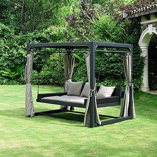 Home Deluxe Sonnenliege Pavillon Provence