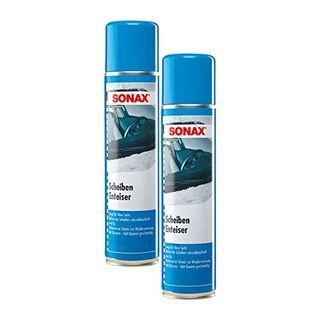 SONAX 2X 03313000 ScheibenEnteiser Eisfrei Antifrost Spray 400ml
