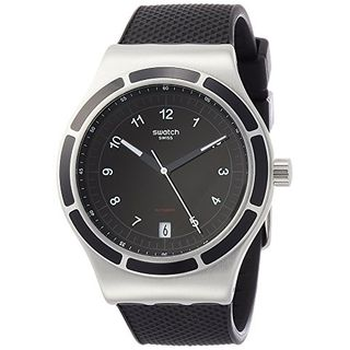 Swatch Herren Analog Automatik Uhr YIS413